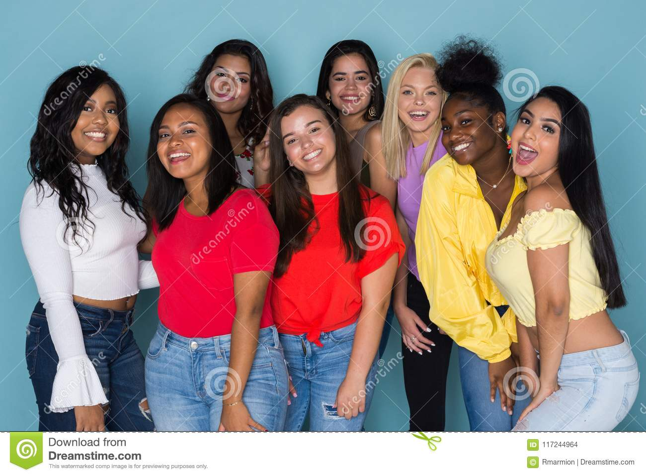 Different social groups for teens