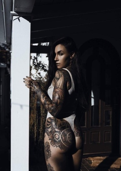 Girls tattoos tumblr with black