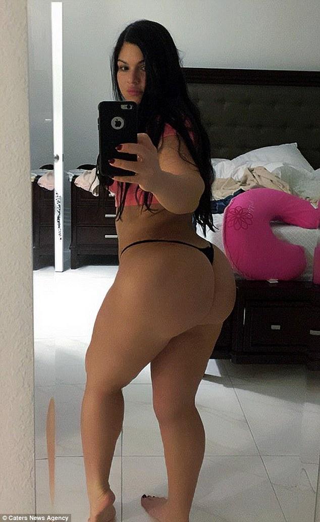 Bubble butt kim kardashian big