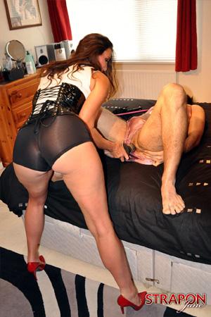 Big ass mature anal