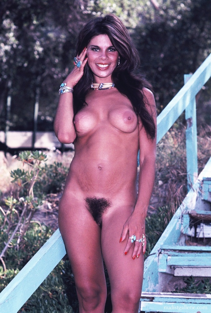 Vintage hairy nude women group