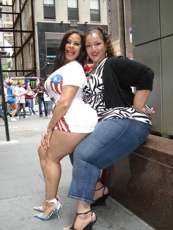 Fat puerto rican girls