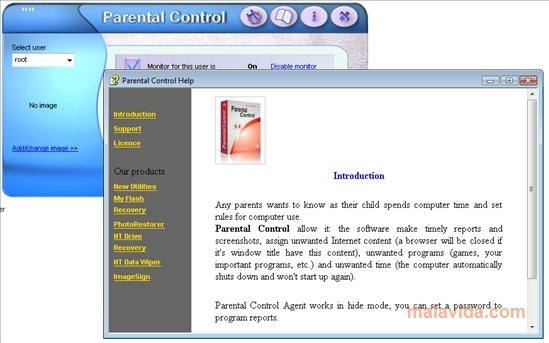 Internet controls for adults free