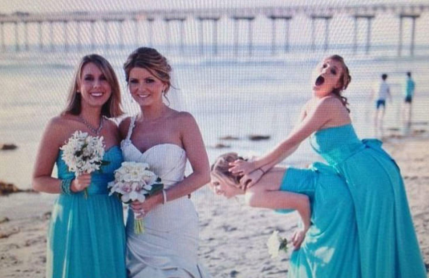 Sex with the bridesmaid