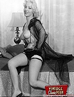 Lingerie retro porn vintage