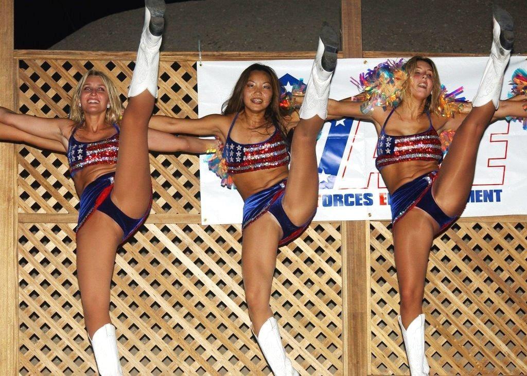 Upskirt amateur porn cheerleader