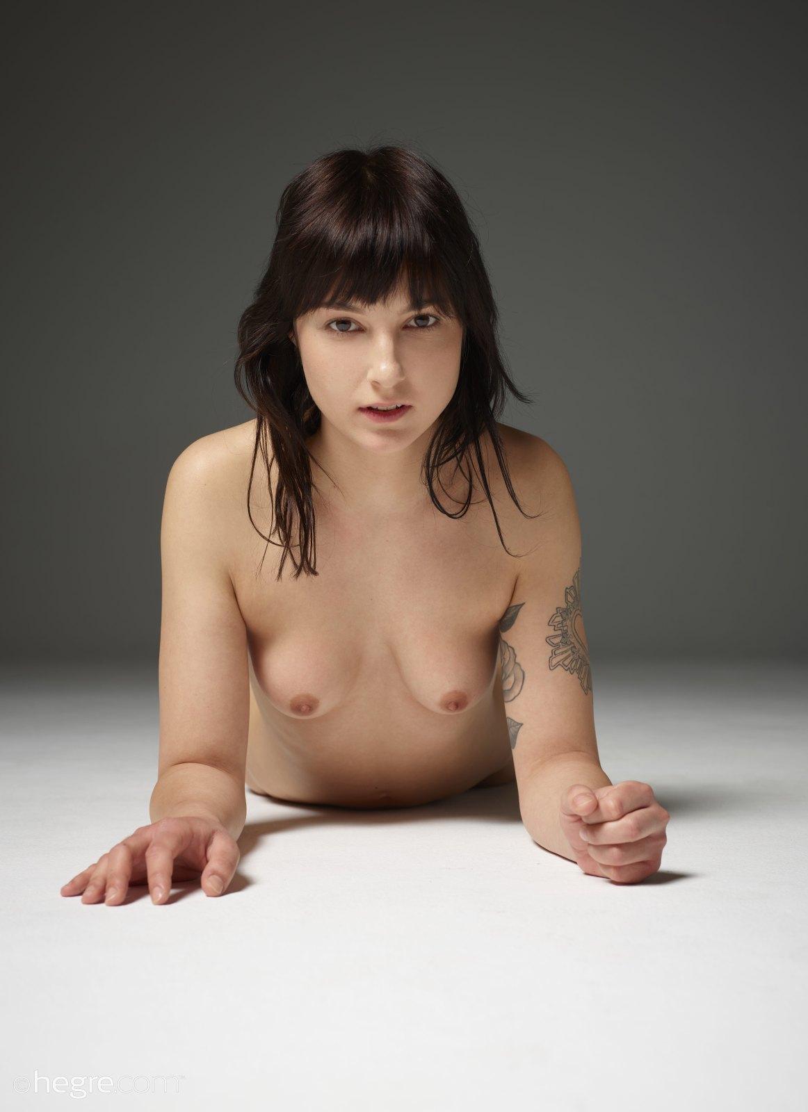 Art nude girl next door