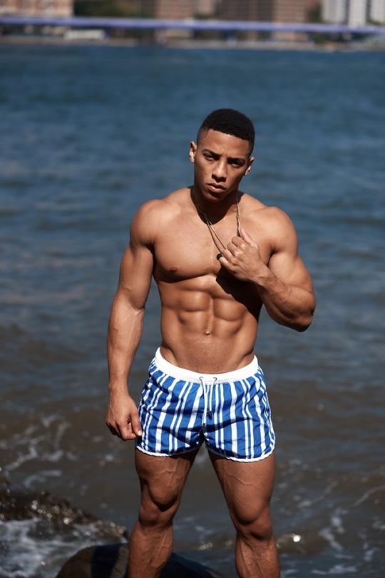 Black muscle men tumblr