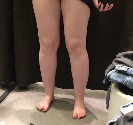 60 years old legs spread