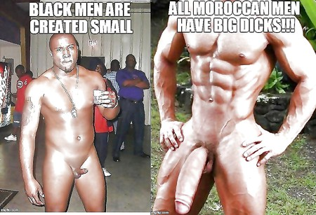 Why black men have big dick s