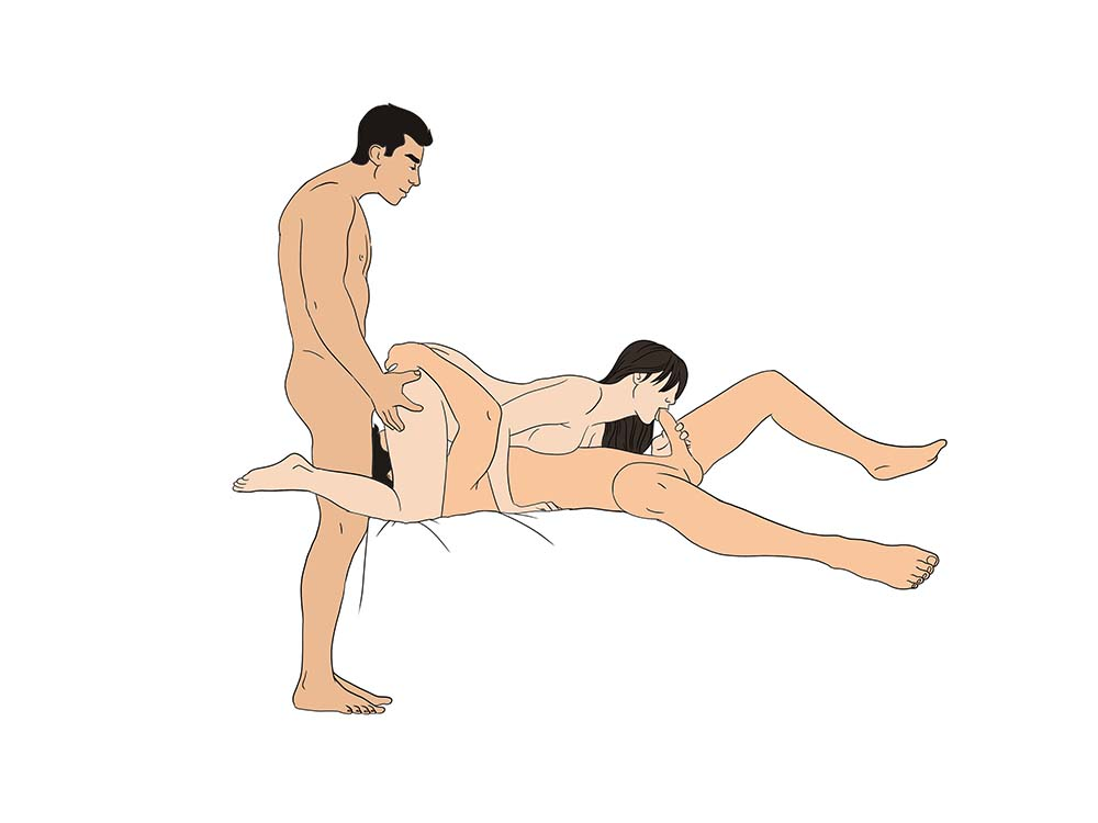 Men sexual position threesome