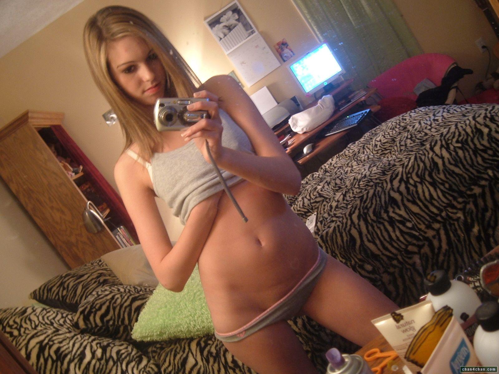Real teen girls self pics