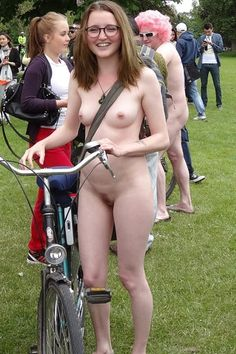 Nude bike ride girls