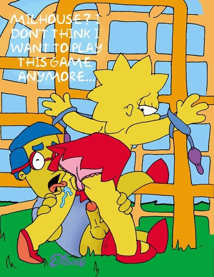 Simpson hentail bart shauna