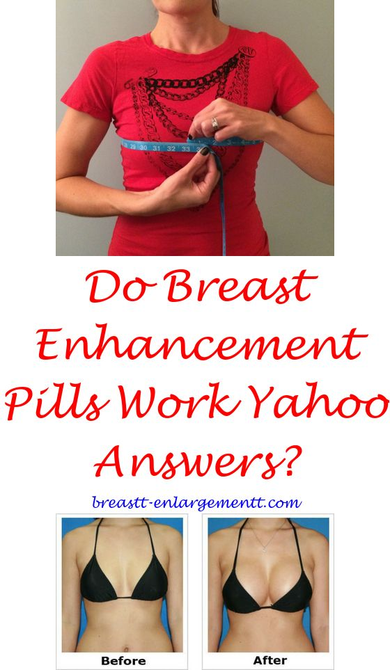 What breast enhancement pills work