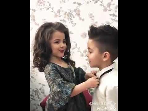 Cute young boys girls
