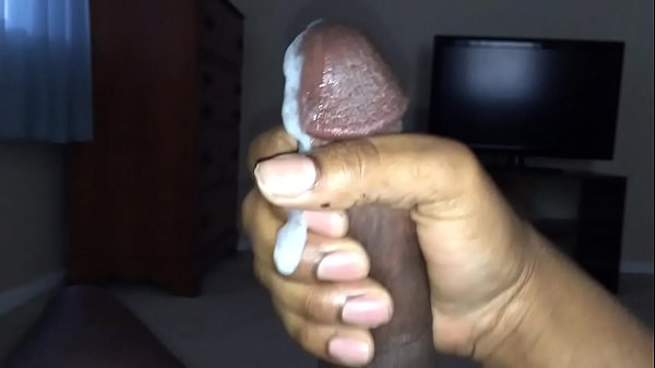 Black dick cum out