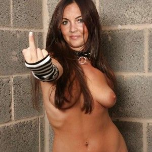 Big boob girls nude embarrassed outdoors
