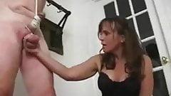 Dom fem penis whipping