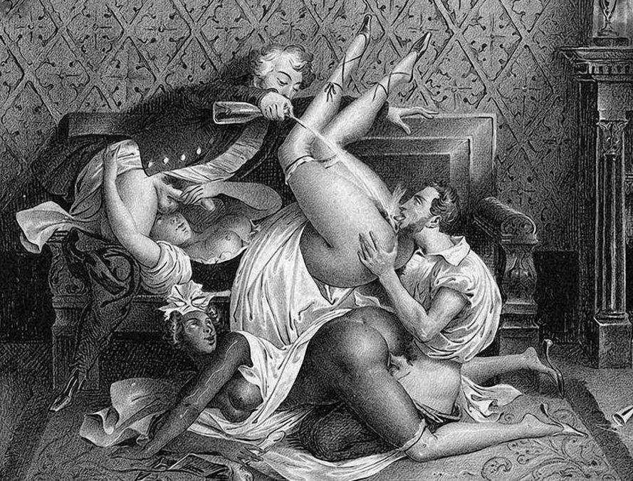 Sex porn drawings vintage