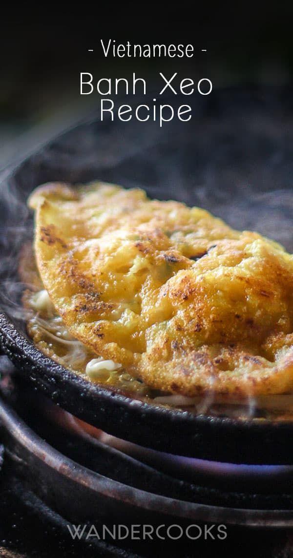 Asian rice flour pancakes