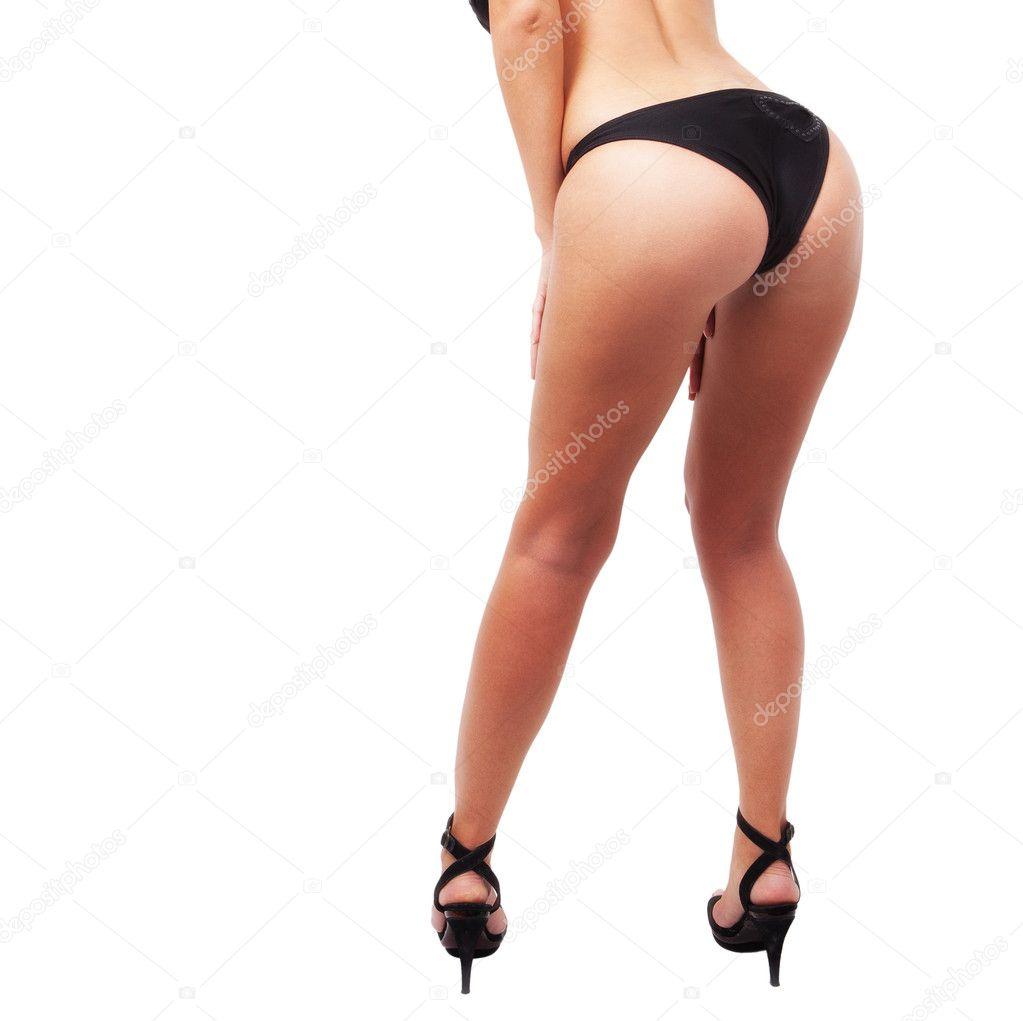 High heels sexy legs and ass