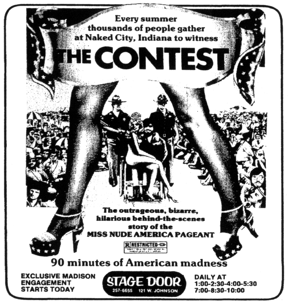 Vintage miss nude pageant