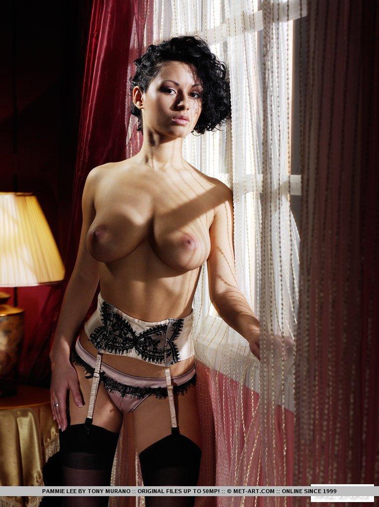 Nude skinny half cast