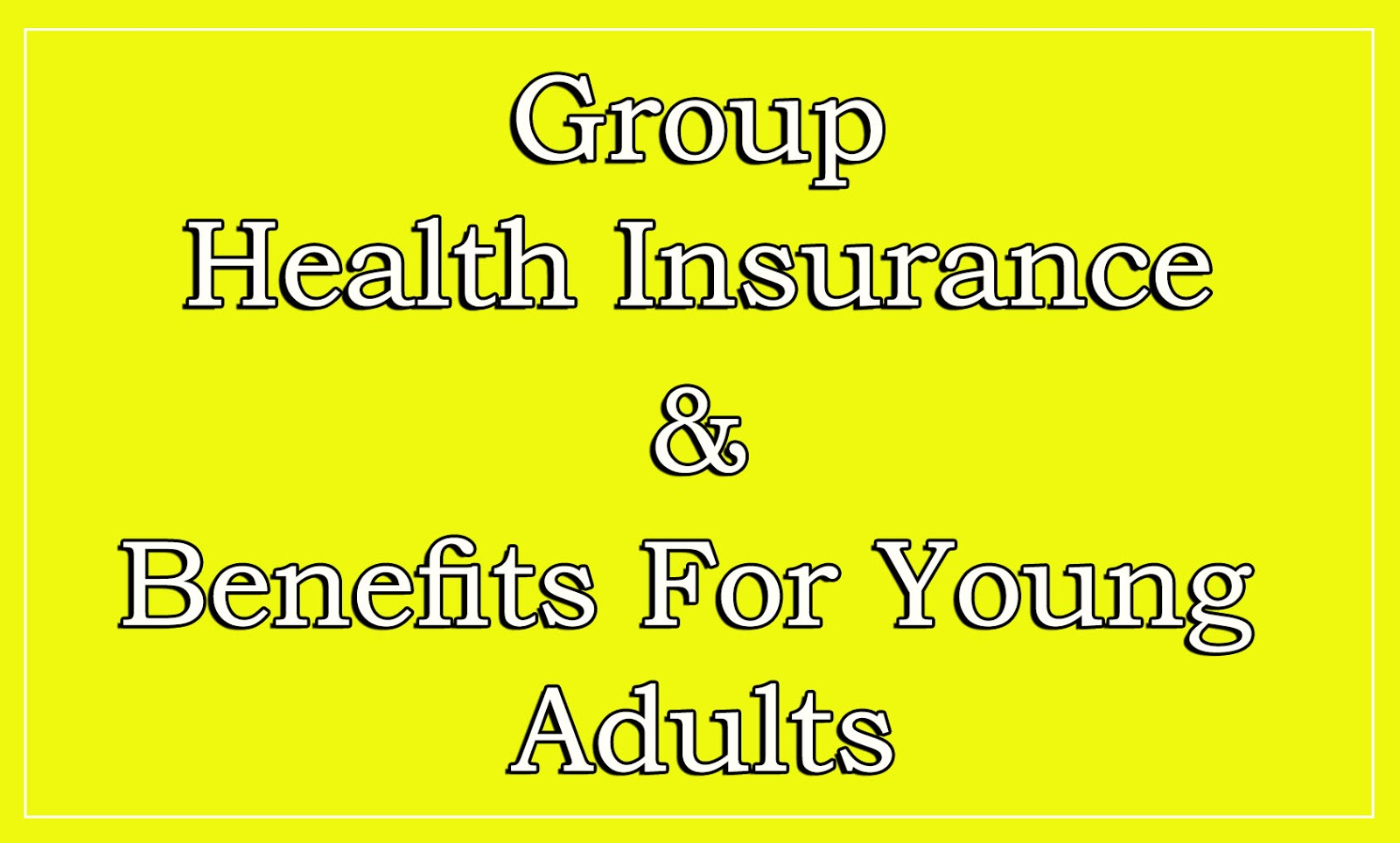 Health for young adults