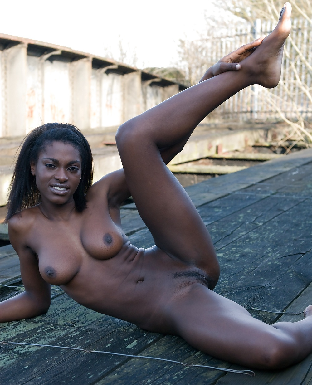 Hot dark black girls nude