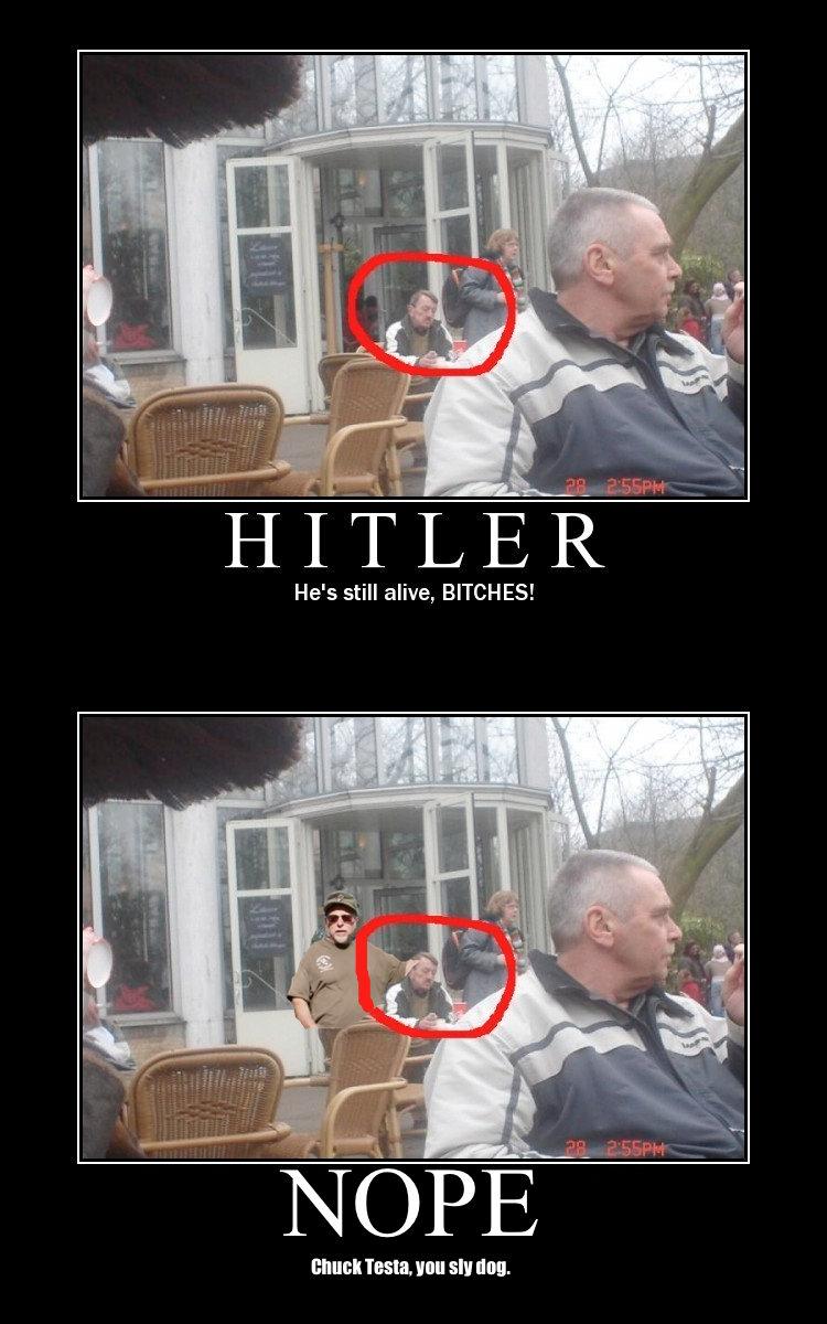 Funny hitler still alive