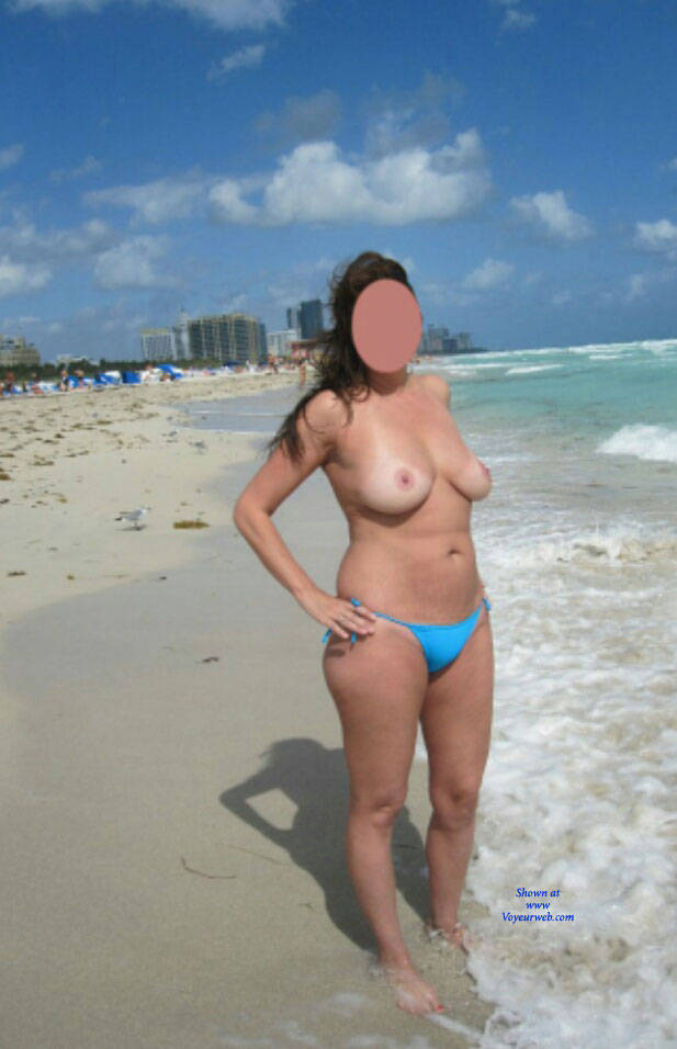 Naked in miami beach