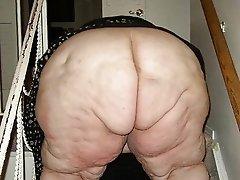 Very old fat granny porn