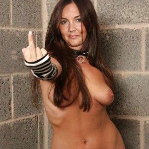 Mom sucks on her big tits