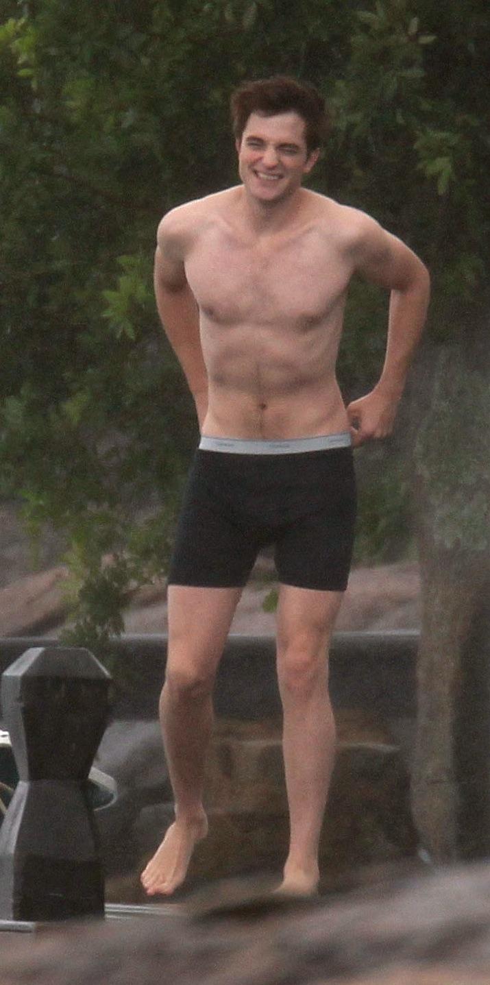 Robert pattinson naked