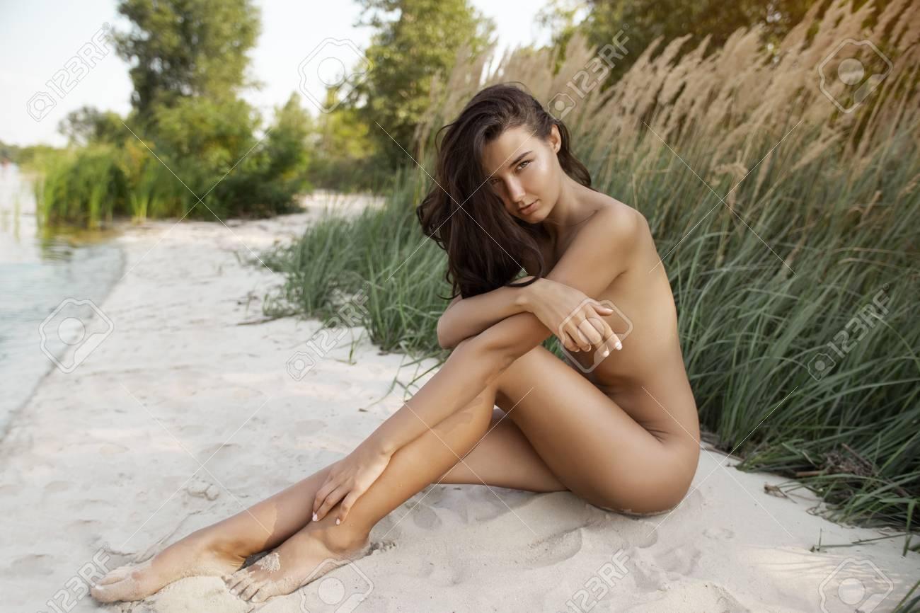 Mixed race nude beautiful girl