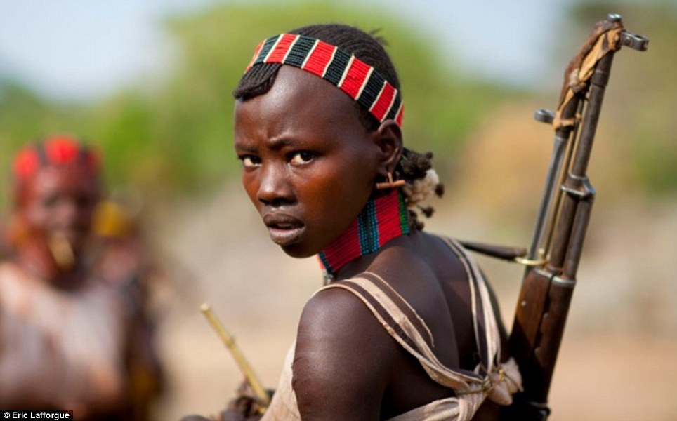 Girl naked tribe african tribal porn