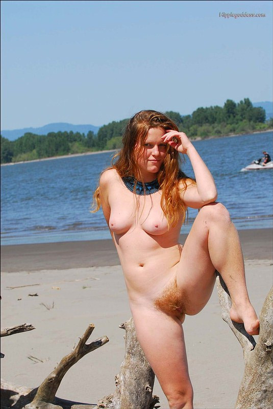 Nude redhead pubic hair photo
