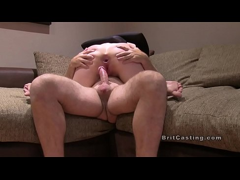 Spooned tied anal fucked