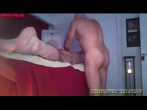 Erotic massage for men by men