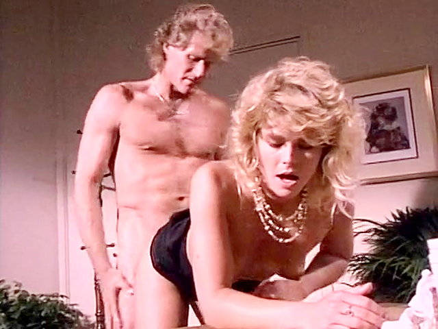 Vintage retro porn blonde