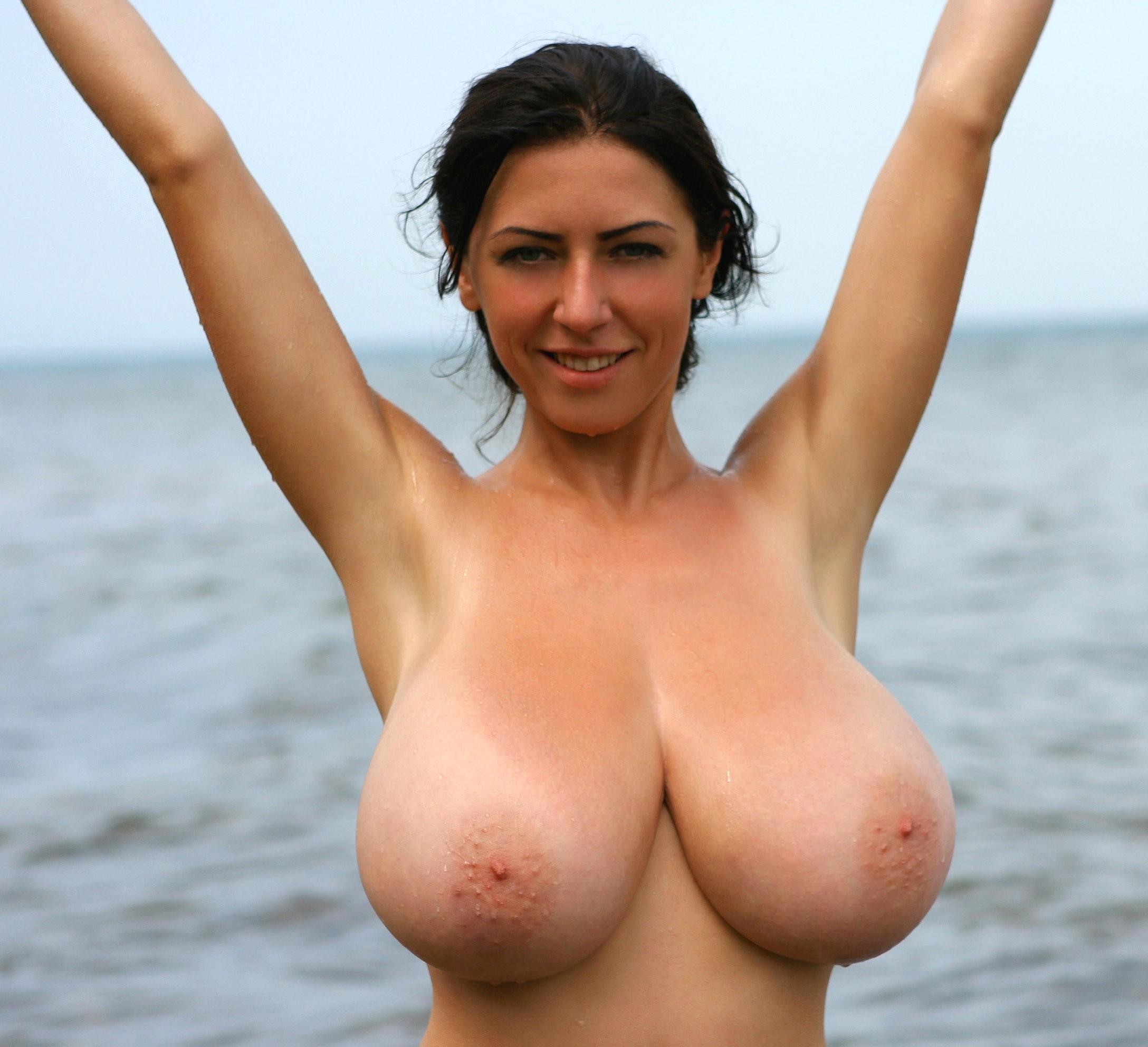 Big black tits anal