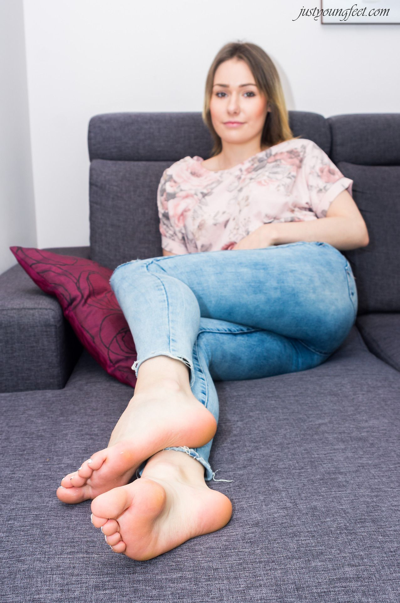 Sexy bare feet and legs