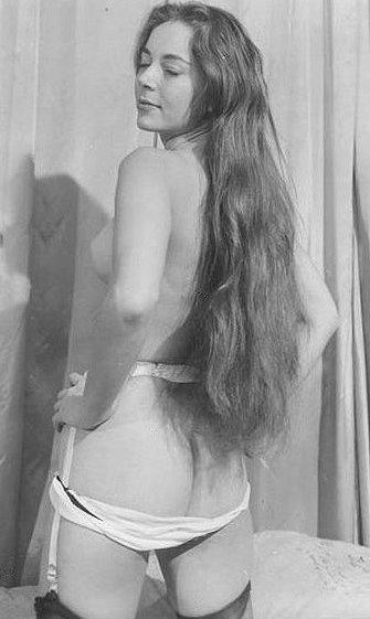Vintage skinny nude girls