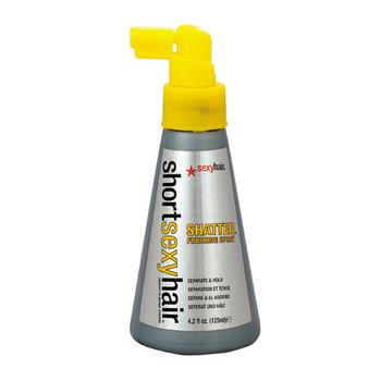 Short sexy shatter hair spray