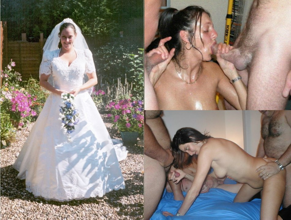 Amateur swinger wife before and after