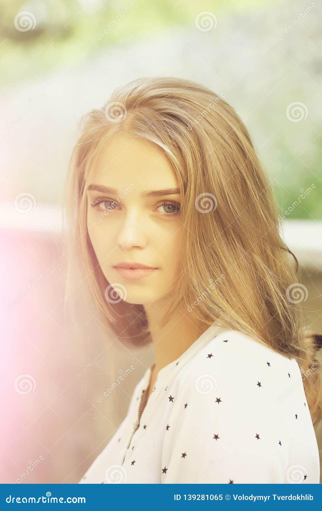 Pretty girls with blonde hair