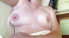 Mature wife tits fondled