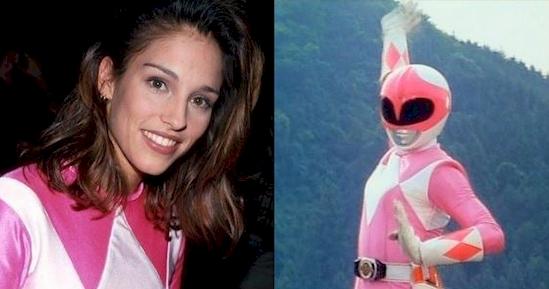Original pink power ranger