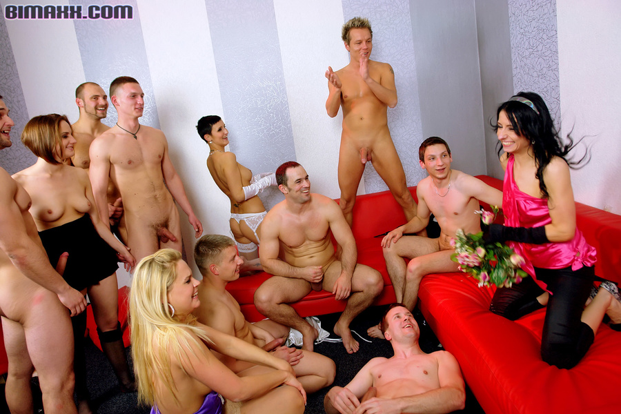 Bisexual group sex orgies